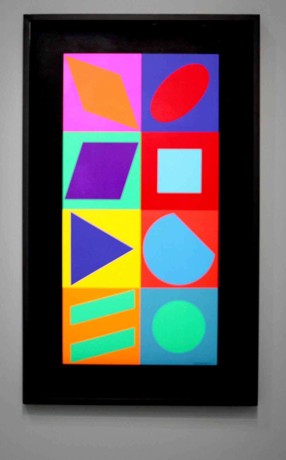 Vasarely Le Partage Des Formes : vasarely, partage, formes, Exposition, Rétrospective, Artiste, XXème, Siècle:, Victor, VASARELY, PARTAGE, FORMES, ACTUART, SIMON