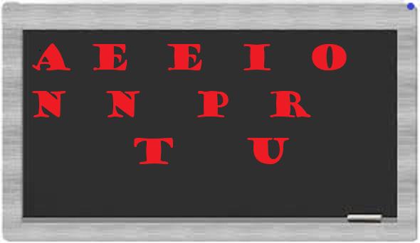 LE PETIT JEU DE LETTRES 158-  PAUTO