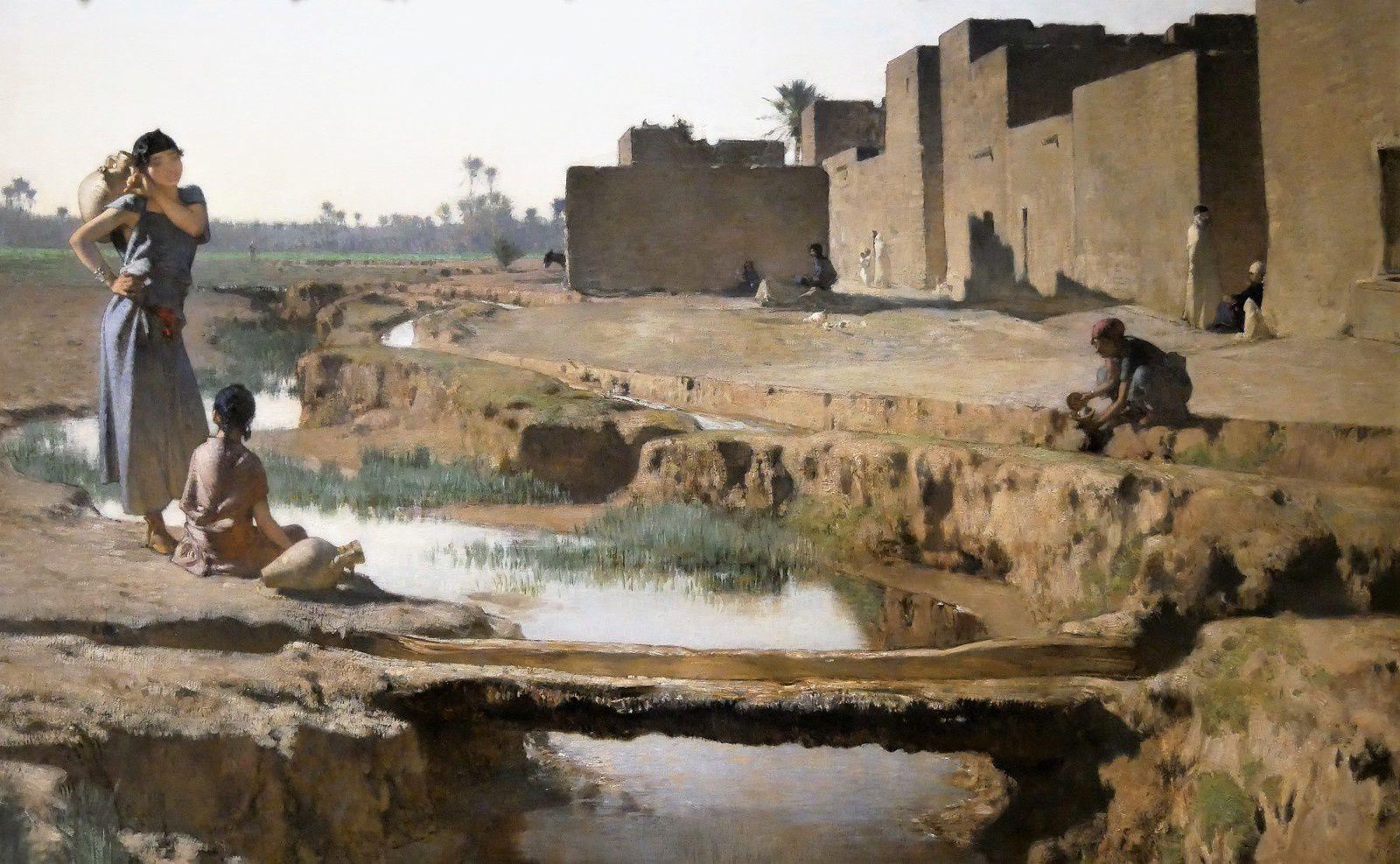 L'Algérie de Gustave Guillaumet. Musée des Beaux Arts de La Rochelle. Exposition.