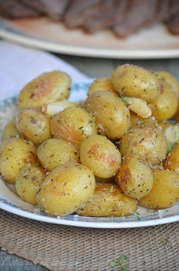 Pomme Grenaille Au Four : pomme, grenaille, Pommes, Terre, Grenaille, Rôties, C'est, Nathalie, Cuisine