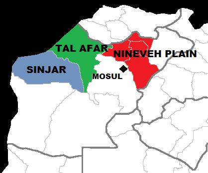 La région autonome réclamée par des représentants de minorités irakiennes
