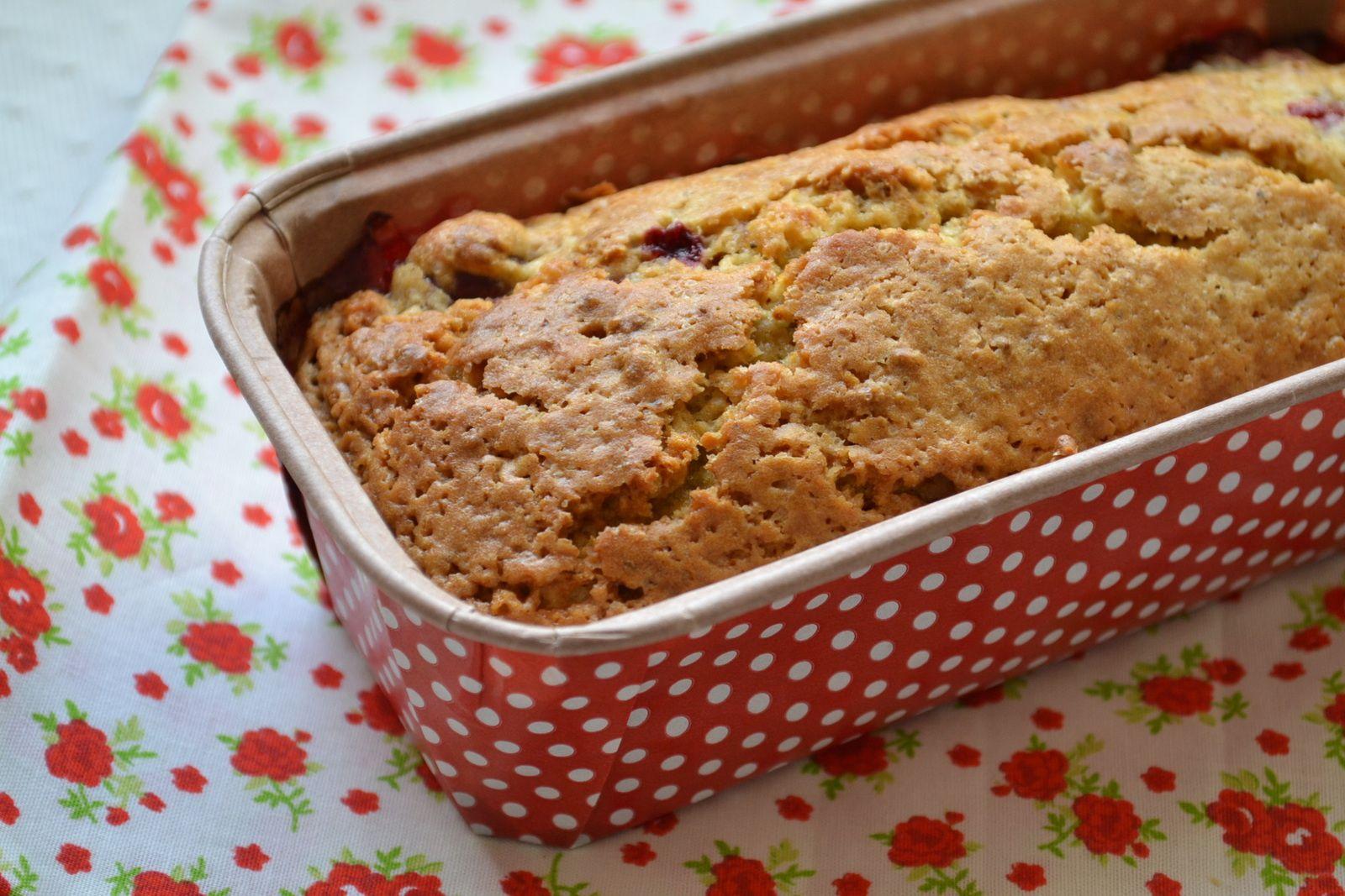 cake aux airelles et a la pistache hum ca sent bon