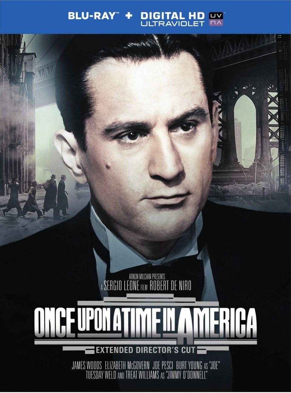 Il était Une Fois En Amerique : était, amerique, Amérique, Coffret, Blu-ray, Collector, Version, Longue, Director's