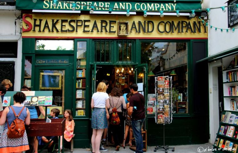 Balade littéraire #3: Shakespeare and co - Paris