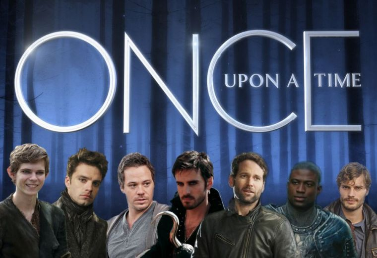 Once Upon a Time (ses personnages masculins ...)