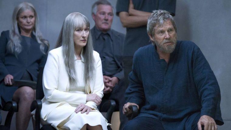 © The Giver, 2014, Meryl Streep et Jeff Bridges (+ une dame, un monsieur et un coude)