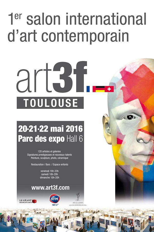 1er Salon d'Art Contemporain Art3f à Toulouse