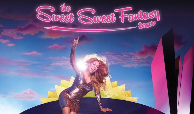 Mariah Carey annonce une tournée européenne (passage à Bercy).