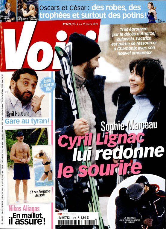 Sophie Marceau et Cyril Lignac : c'est fini