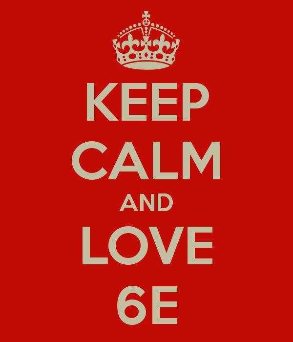Indeed, keep calm!
