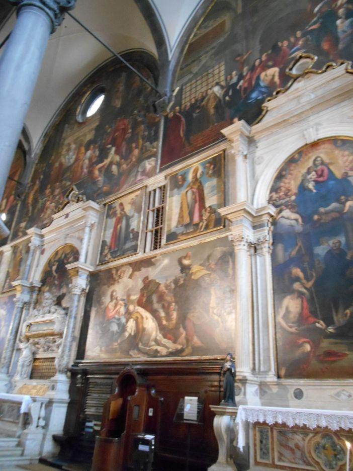 Nombreuses oeuvres de Bellini, Palma le Jeune, Tintoret, Piepolo, Palma le Vieux...