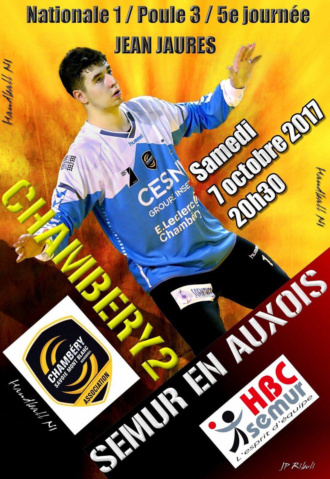 N1 Chambery2 Recoit Des Bourguignons Samedi 7 Octobre
