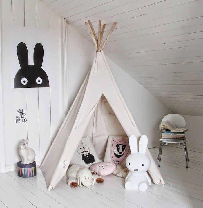 Inspirations Pinterest chambres d'enfants
