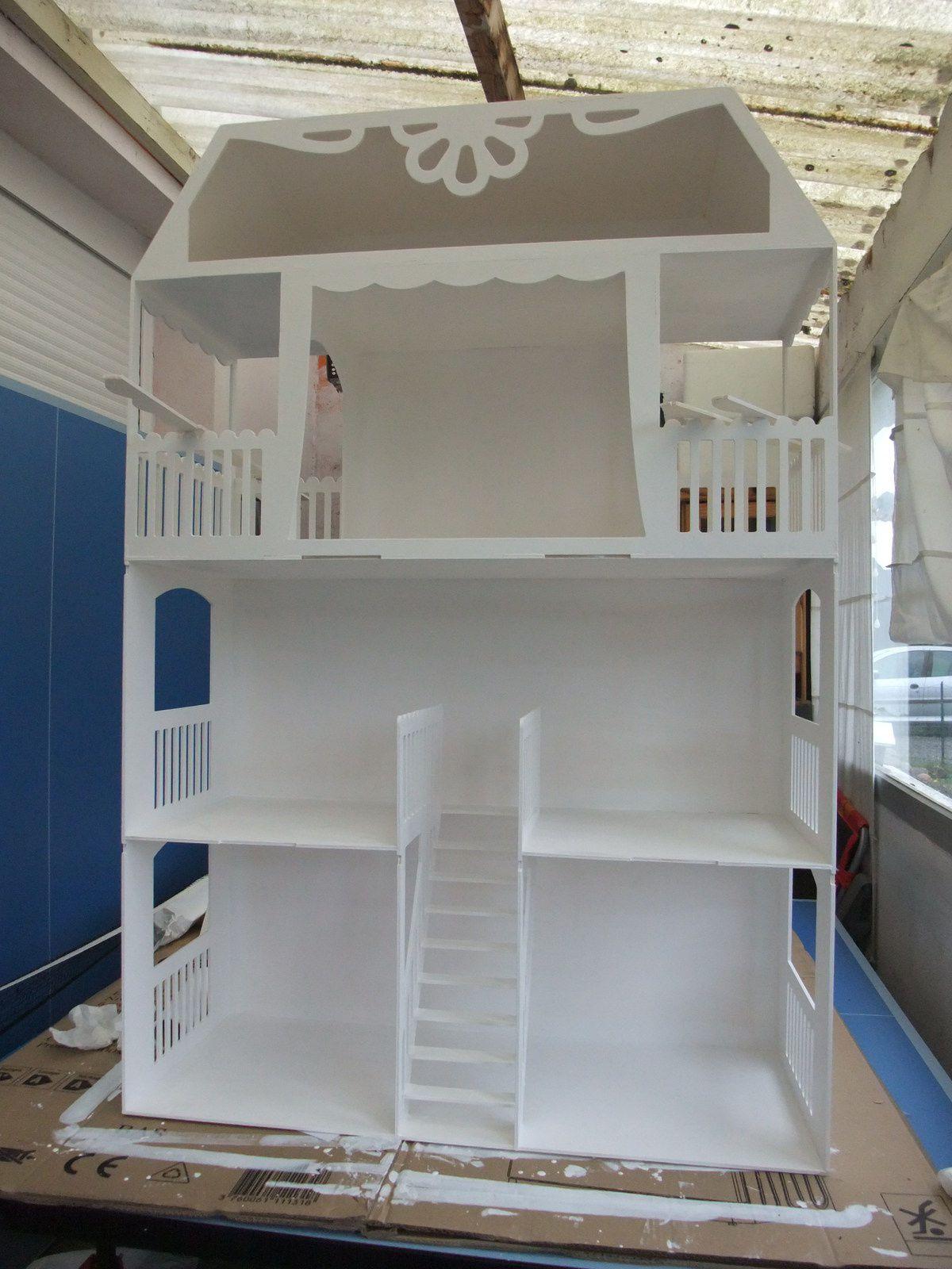 maison de barbie a construire