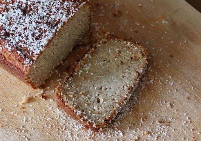 cake à la noix de coco IG bas pauvre en gluten