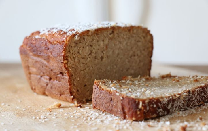 coconut bread-cake index glycémique bas