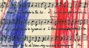 La Marseillaise.