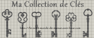 "SAL ""Ma collection de clés"""