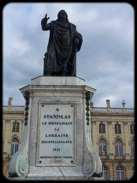La statue de Stanislas Leszczyński