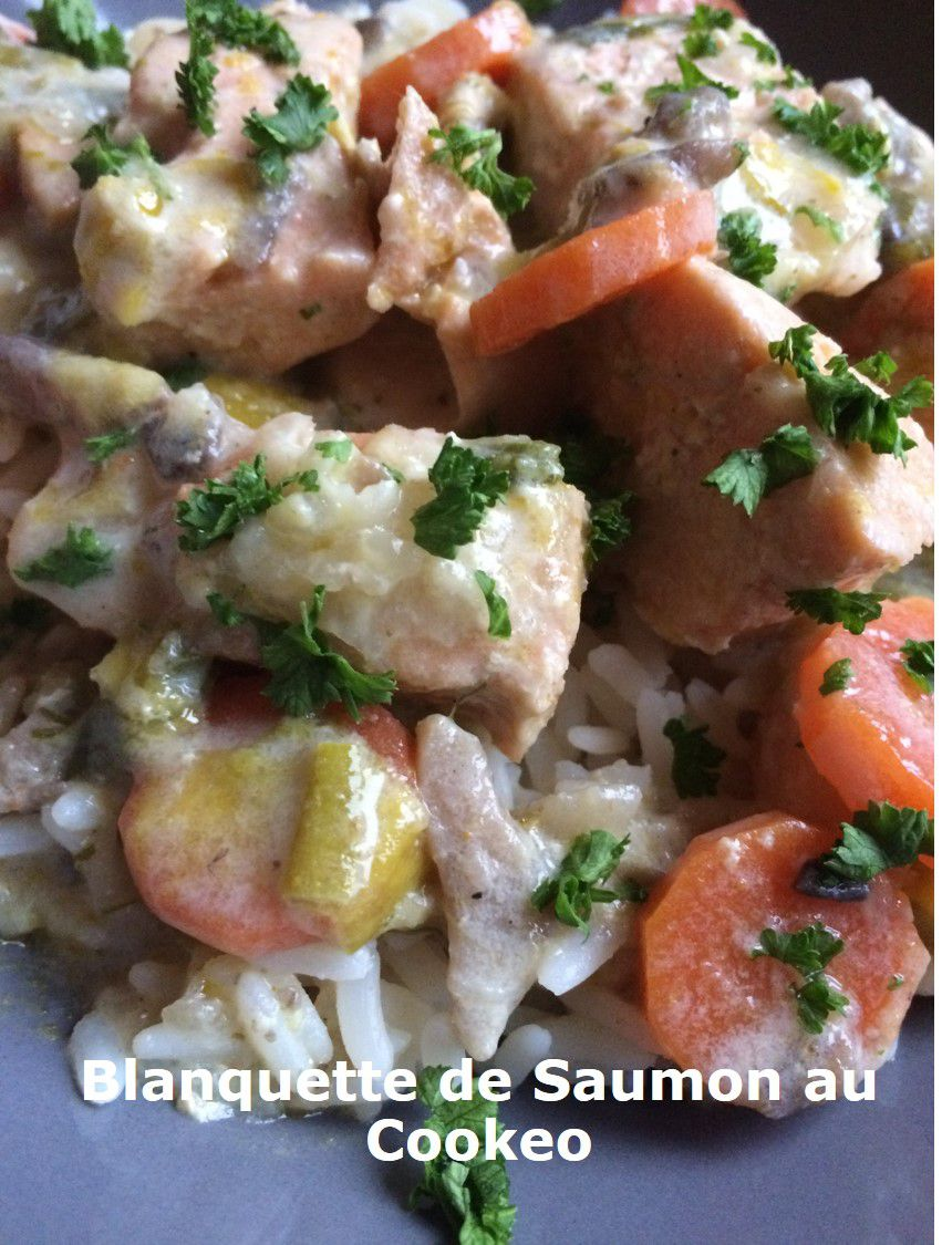Blanquette De Saumon Cookeo : blanquette, saumon, cookeo, Blanquette, Saumon, Cookeo, Petites, Recettes, Préférées