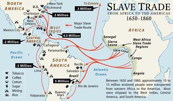5 enlightening facts about Atlantic slave trade