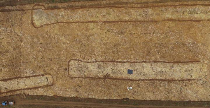 Des tombes néolithiques monumentales à Fleury-sur-Orne
