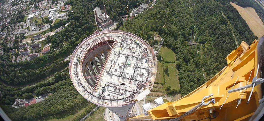 Allemagne: une tour de 246 mètres pour tester l'ascenseur qui lévite