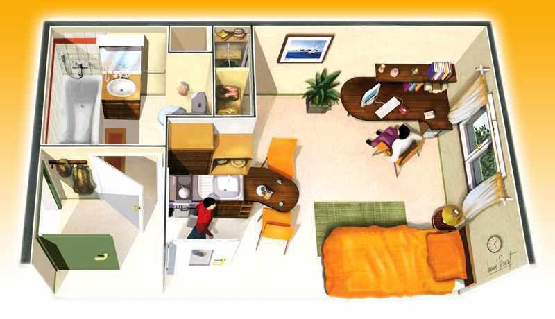 plan appartement tudiants  Infos et ressources