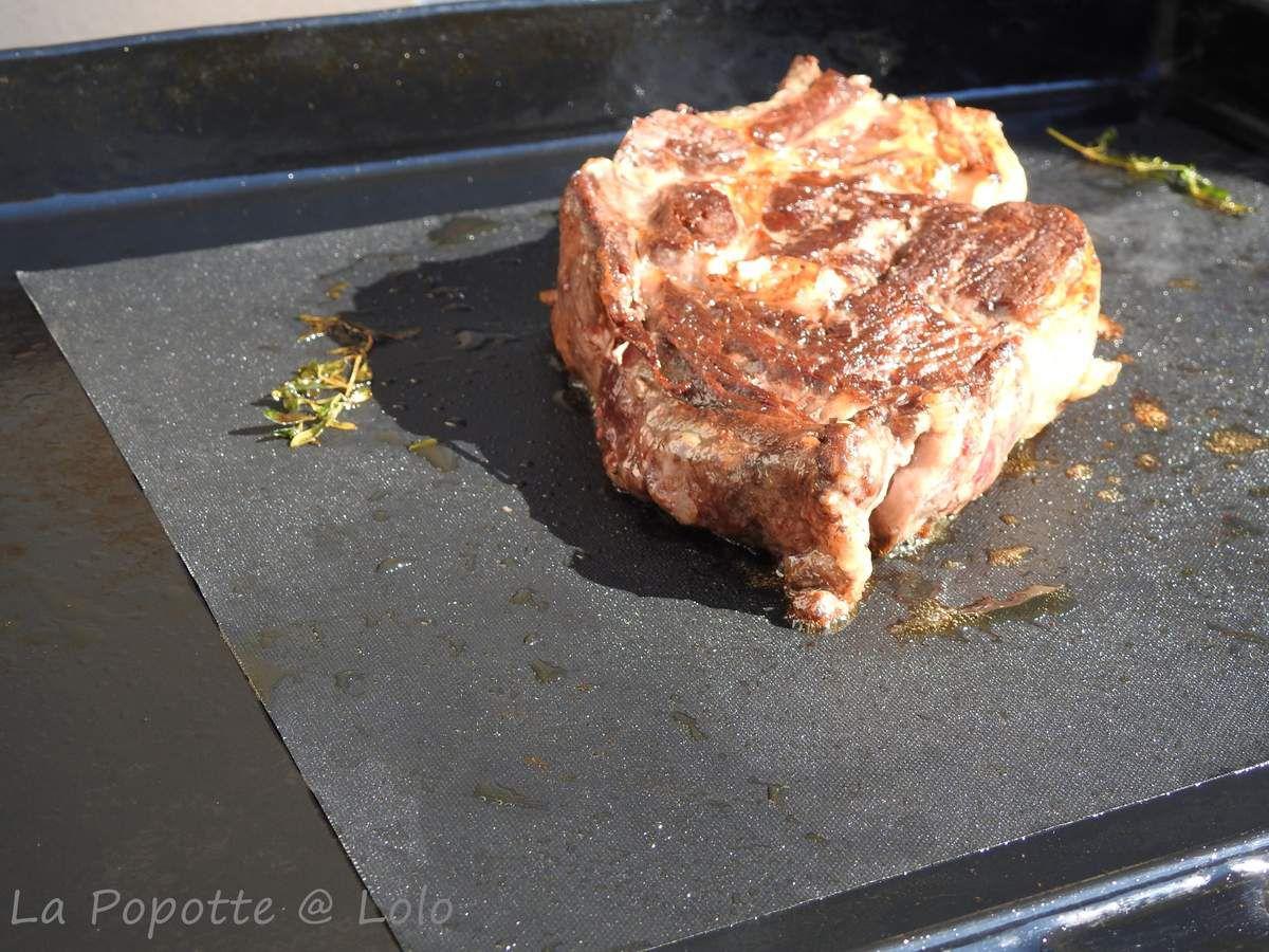 cote de bœuf a la plancha la popotte