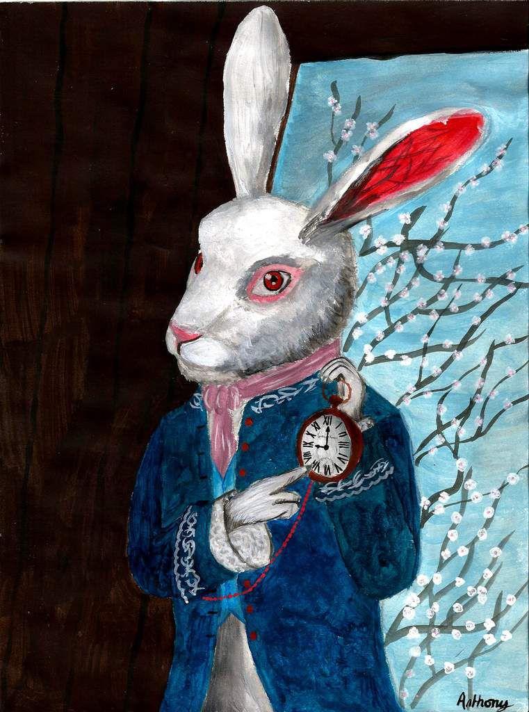 Lapin D Alice Au Pays Des Merveilles : lapin, alice, merveilles, Drawings, Alice, Wonderland, (Alice, Merveilles), INSPIRATION, MAKES, ALIVE