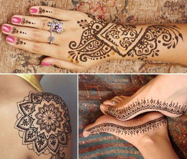 Tatuaggio con l'hennè come realizzare un tatuaggio temporaneo 6 tecniche fantastiche sweetannykabijoux