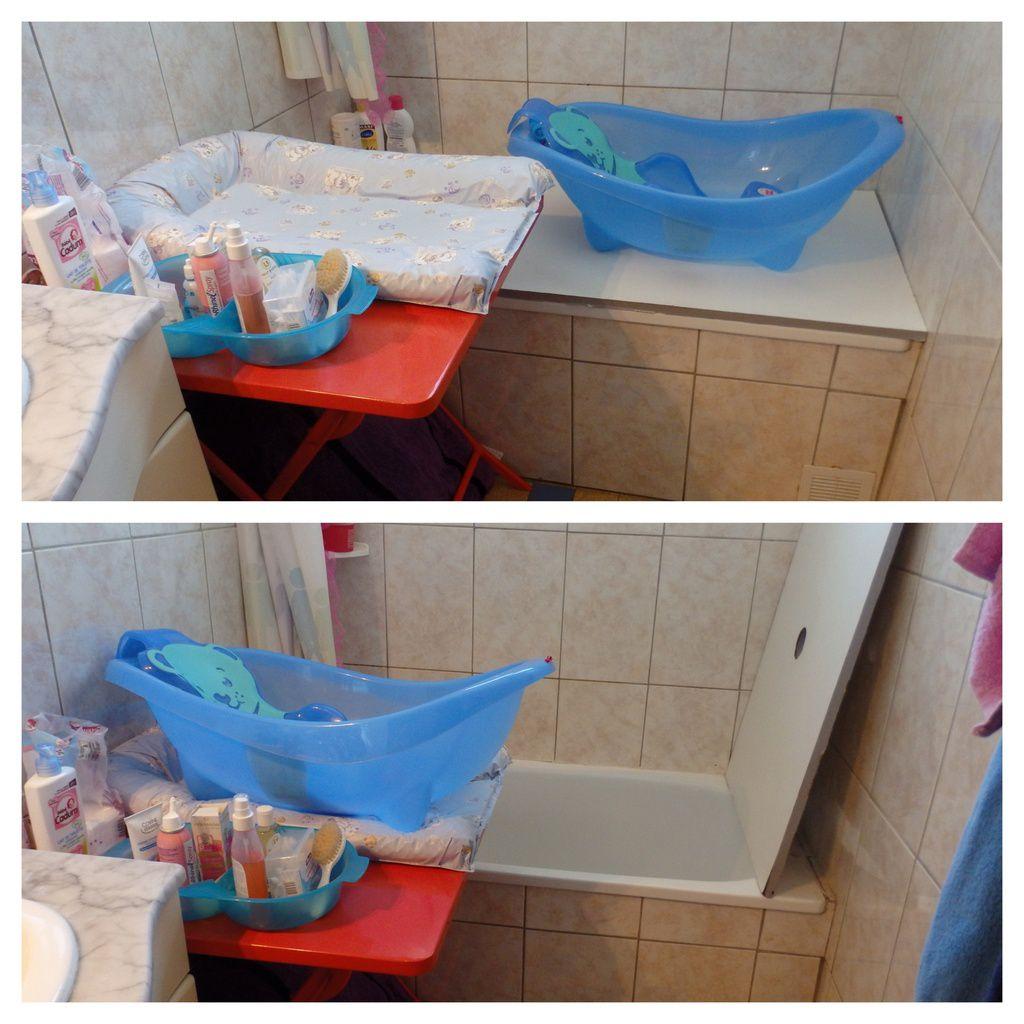 Bain De Bébé  Comment Aménager Une Petite Salle De Bain