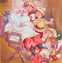 Le Père Noël est un barbier !