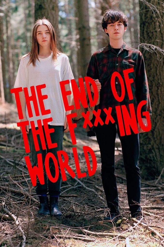 """Résultat de recherche d'images pour """"the end of the f *** ing world"""""""