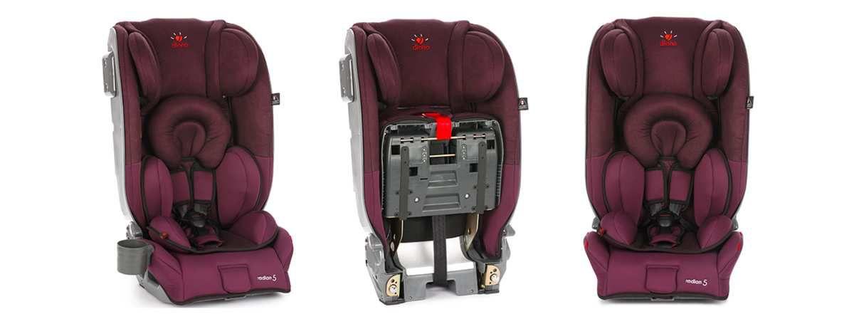 [Test] Papa Online ! a testé pour vous... le siège auto Radian 5 de Diono