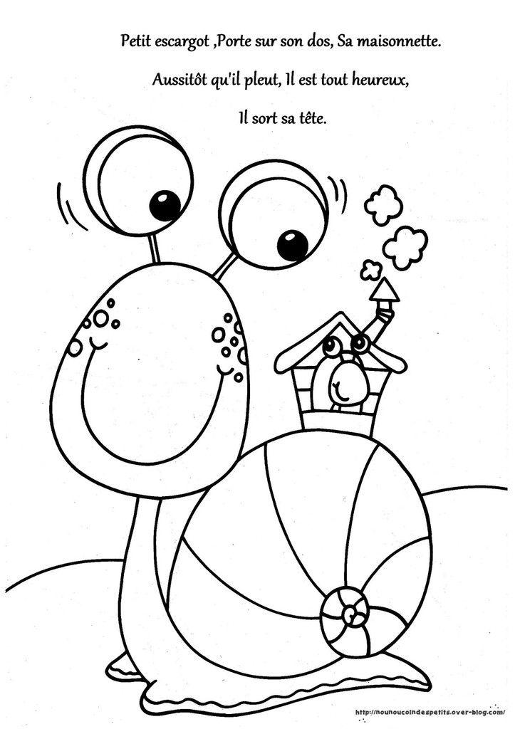 Escargot En Gommettes