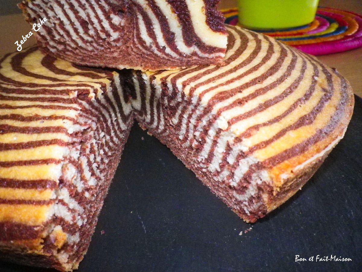 Zebra Cake, ou le gâteau marbré moderne