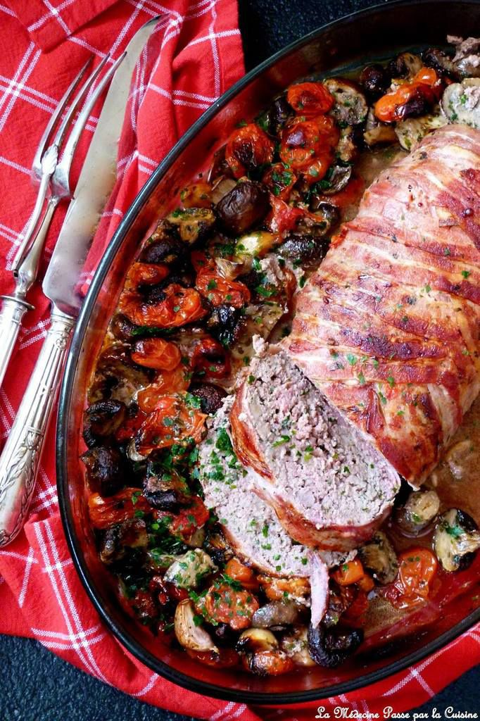 Meat loaf à l'italienne