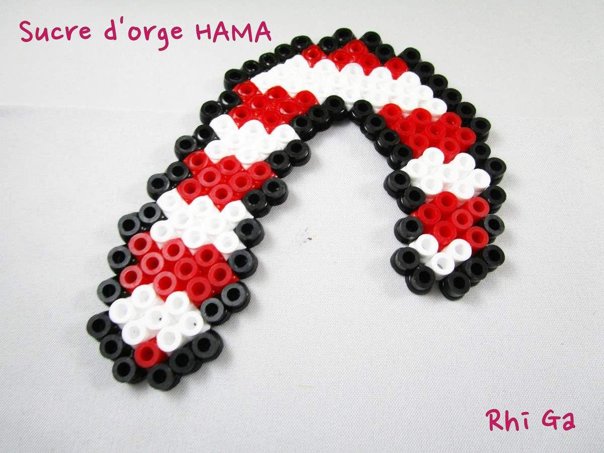 Des d corations en perles hama pour noel leur monde a elles for Perle decoration