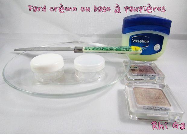 DIY : Fard crème ou base à paupières