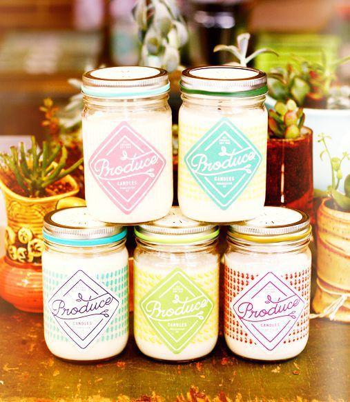 Présentation de Produce Candles