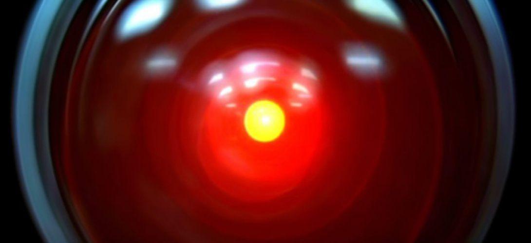 L'«oeil» de l'ordinateur HAL 9000 dans «2001, l'odyssée de l'espace» de Stanley Kubrick (1968).