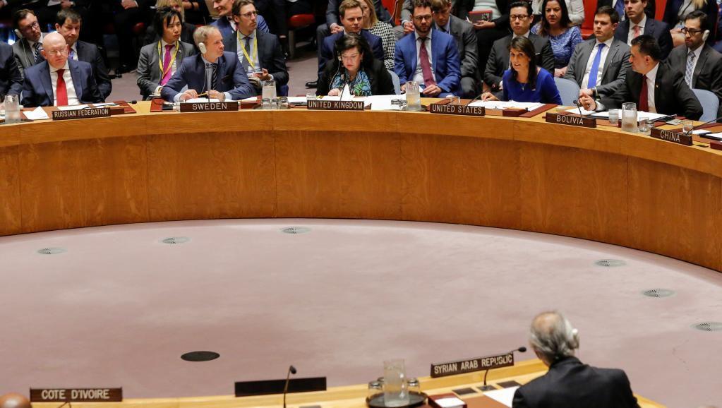 ONU: la Russie échoue à faire condamner les frappes occidentales en Syrie