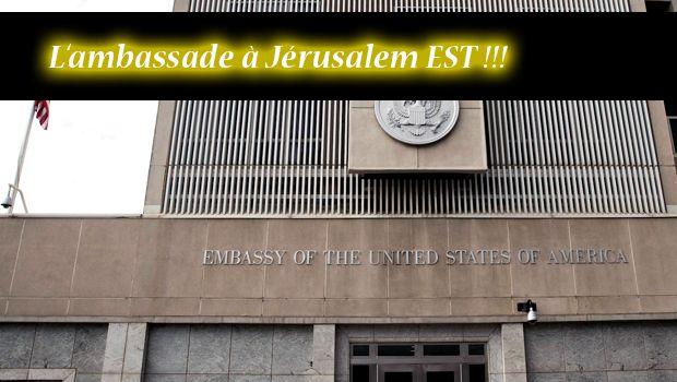 Et pour que le monde comprenne bien le message, c'est à Jérusalem Est que Trump a installé la nouvelle ambassade