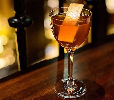 The NoMad Bar's Black Dhalia