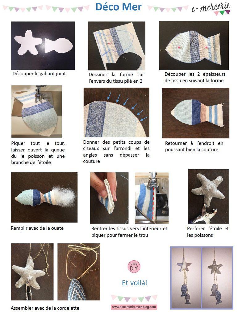 Tuto Déco thème Mer - Couture DIY