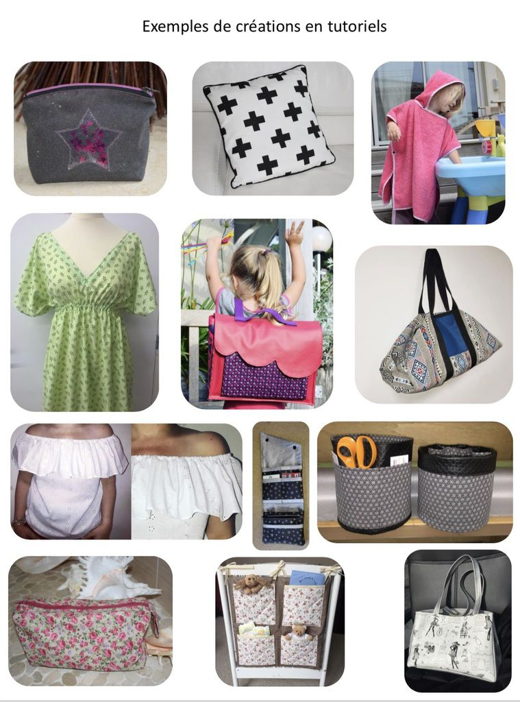 Mon e-book à télécharger - 60 projets Couture et DIY