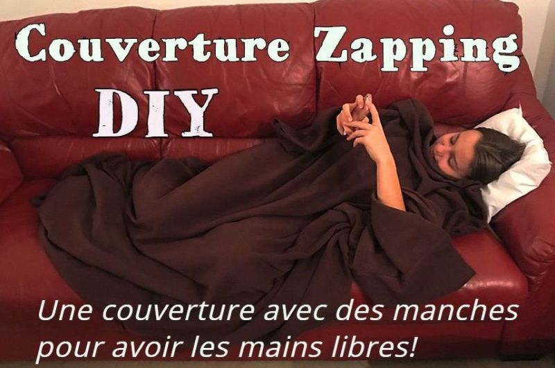 Couverture Zapping - Tutoriel Couture DIY