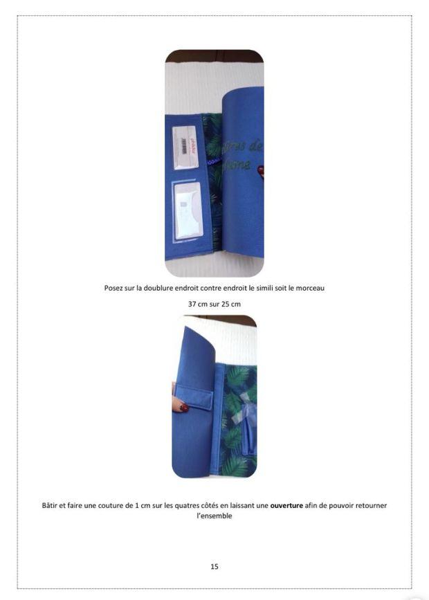 Protège cahier ou Bullet Journal - Tutoriel Couture DIY