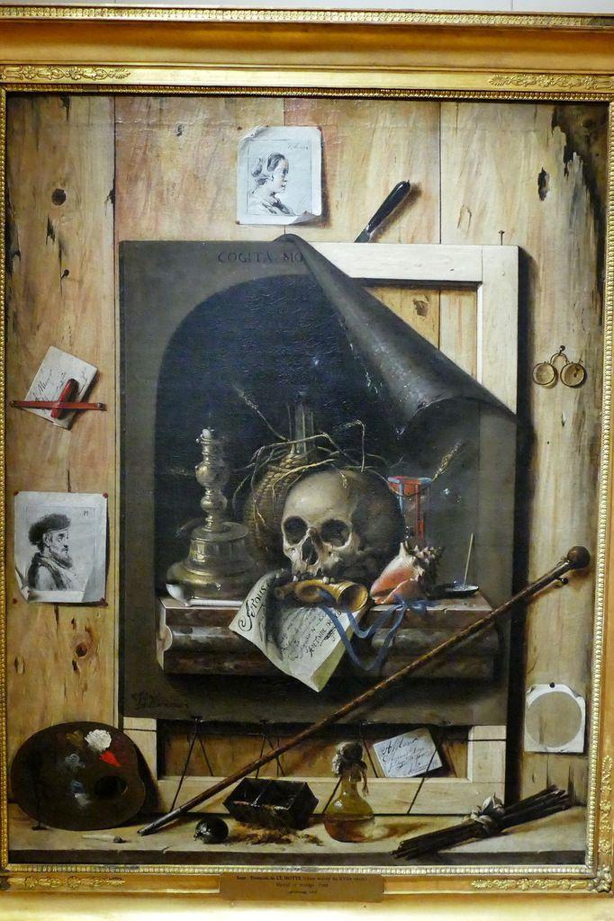 Peinture En Trompe L Oeil : peinture, trompe, Trompe-l'œil, Jean-François, Motte, Musée, Beaux-arts, Dijon., Jean-yves, Cordier